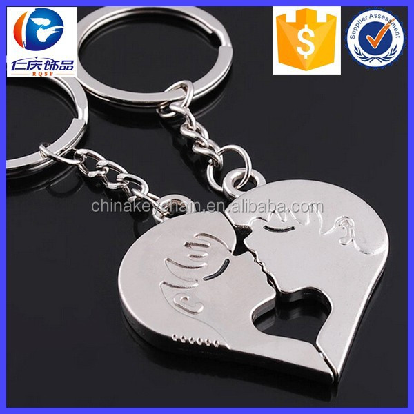 Hot Product Best Selling 2015 Boy And Girl Kiss Key Holder