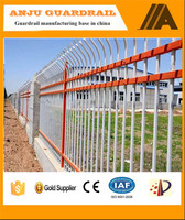 DK014 Hot Dip Galvanised Steel Metal Industrial Safety Fence