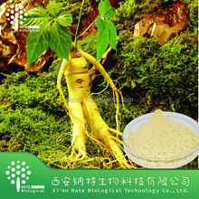 Factory supply top quality Panax Ginseng Extract Powder 20% Ginsenoside by UV