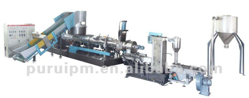 LLDPE HDPE film Granulating Machine/Extruder