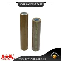 carton packaging used adhesive tape, transparent BOPP tape ,Clear/brown packing tape