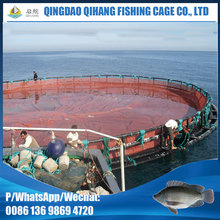 Fish farming water plastic aquaculture equipment net cage floating system