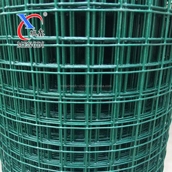 Plastic Coated Iron Wire Material and 1.5-5mm Wire Gauge pvc welded wire mesh