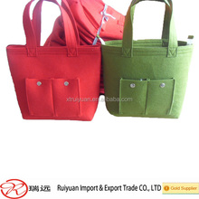 Professional custom all kinds of eco bag Trendy felt tote bag