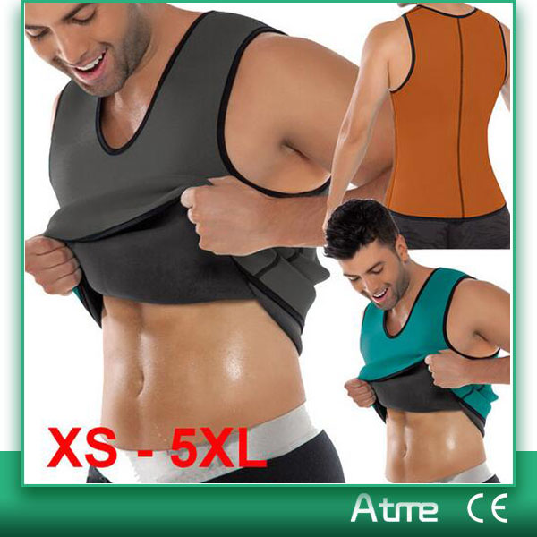 Unisex Neoprene Body Shaper Slim Waist Trainer Vest