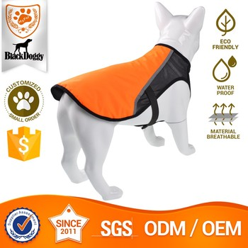 Fluorescence Fabric Dog Coat For Summer Air-Mesh Dog Clothes Pet Accessories Hot Pet Clothes