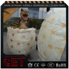 Cetnology-High simulation animatronic/electric dinosaur egg with dinosaur baby