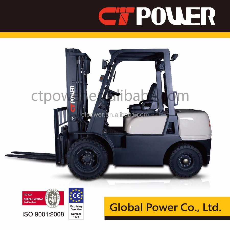 CT POWER brand 3.5 ton forklift truck FD35