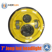 "round 7"" led headlight high/low for jeep wrangler"