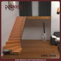 indoor modern wooden staircases | stairway