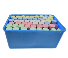 52pcs Colorful bright jumbo sidewalk chalk types of chalk piece