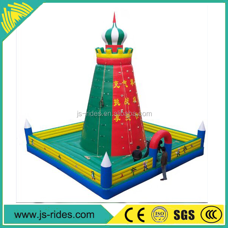 China top ten selling products outdoor kids rides Commercial Inflatable Kids Rock Climbing Wall