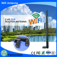 YNX 9DBI 001 2.4ghz wifi usb lan adapter with external SMA wifi antenna