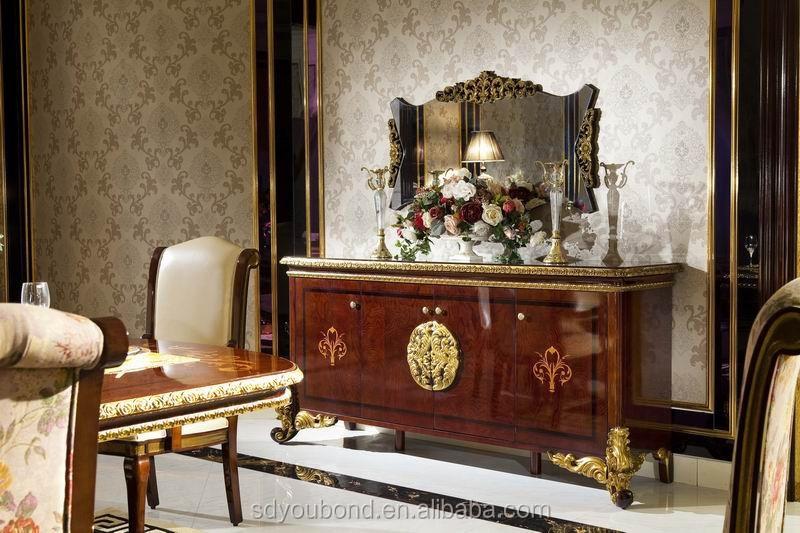 0063 solid wood antique dining room set italian style high end italian furniture dining room set