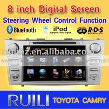 2011 hot sell TOYOTA CAMRY car dvd player 3D Animation UI