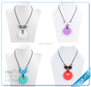 Promotional gift silicone pendant teething wholesale for baby chewing BPA Free