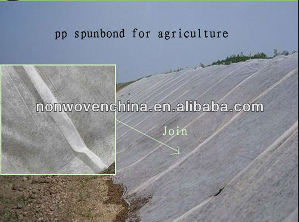 UV protection tubular non woven fabric for agriculture
