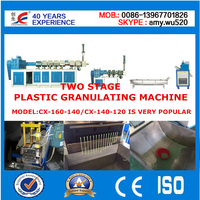factory manufacture 300kg/hour waste plastic film recycling line