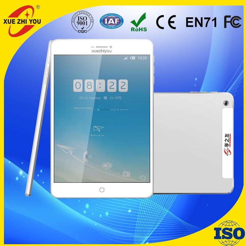 China Price Easy touch 7.85 inch Mini MTK 8312 Android 3G super smart Tablet PC Quad Core 1.3GHz 2GB/16GB 1024*768