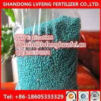 NPK blue granular fertilizer 12-12-17+2MgO+TE GOOD SOLUBLE