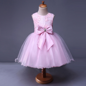 Pink Clothing Wholesale Frock design lace fairy teenager baby girl vintage dress