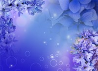 ice blue flower with glitter stars wallpaper to cover bedroom wall wallpapers