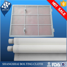 white 100 200 micron polyester nylon air conditioning filter mesh