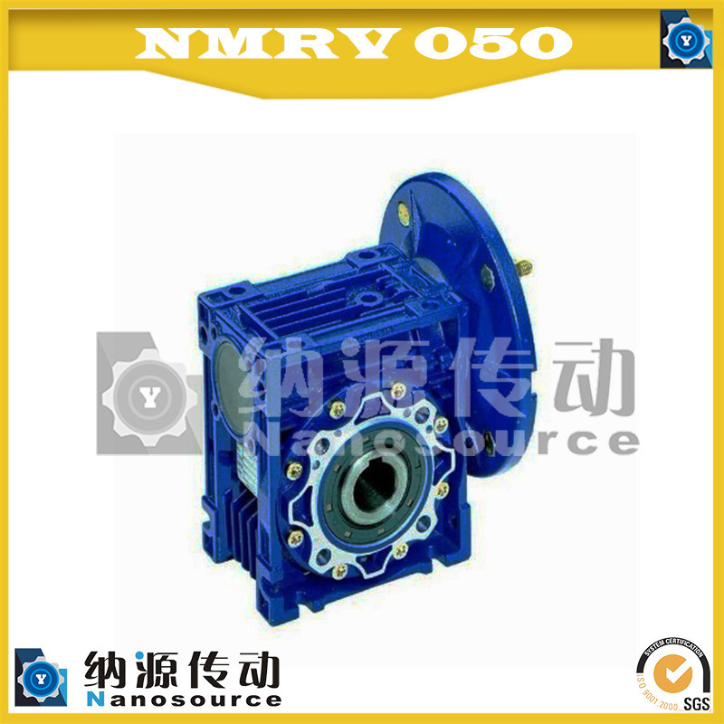 NMRV050 10 : 1 reducer gear/ worm speed reducer motor/ transmission gearbox
