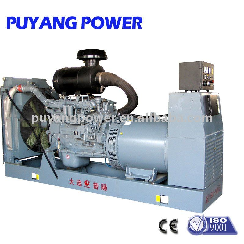 CE approved OEM AC three phase Water cooled Multi-cylinder diesel power generator with famous engines in Dalian city