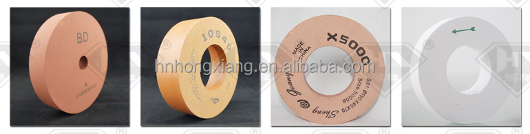 Aluminium oxide polishing wheel for glass,BD polishing wheels