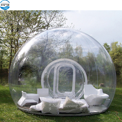 Waterproof Outdoor Camping Transparent Inflatable Bubble Tent, Inflatable Dome Tent, Tent Inflatable
