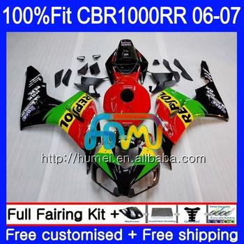 Injection Body For Honda Cbr 1000 Rr 06 07 Cbr 1000rr 86hm28 Repsol
