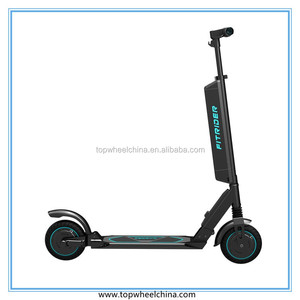aluminum alloy folding 2 wheel electric adult mobility scooter