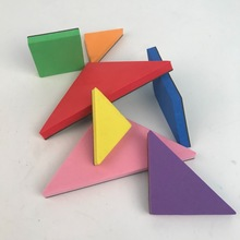Games Magnetic EVA Tangram ,promotional puzzle,magical magnet toy