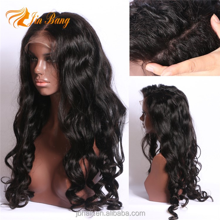 Pre plucked Swiss lace 26 28 inch Brazilian real human hair lace front wig, natural wigs for black women long