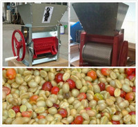 Coffee fruit Manual pulper machine /coffee pulper machine | coffee bean pulp machine | coffee bean pulping machine