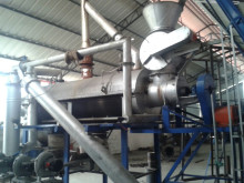 continuous coconut char coal manufacturing carbonizer