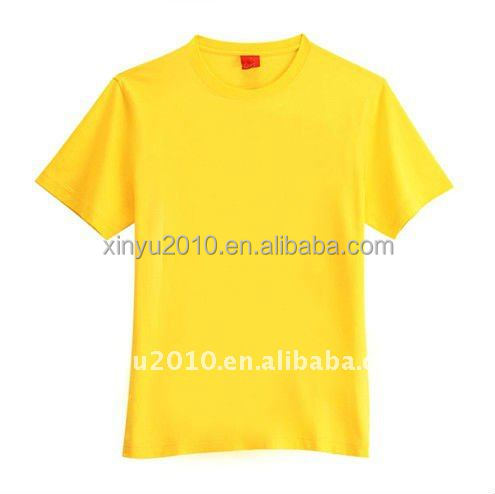 Euro Size Foreign Trade Plain T Shirt For Men