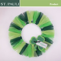 St Patrick's Day Ireland Irish handmade decorative four leaf clover good luck