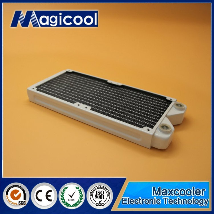 Best Quality Copper Radiator for computer 27mm thickness 240mm length and White color