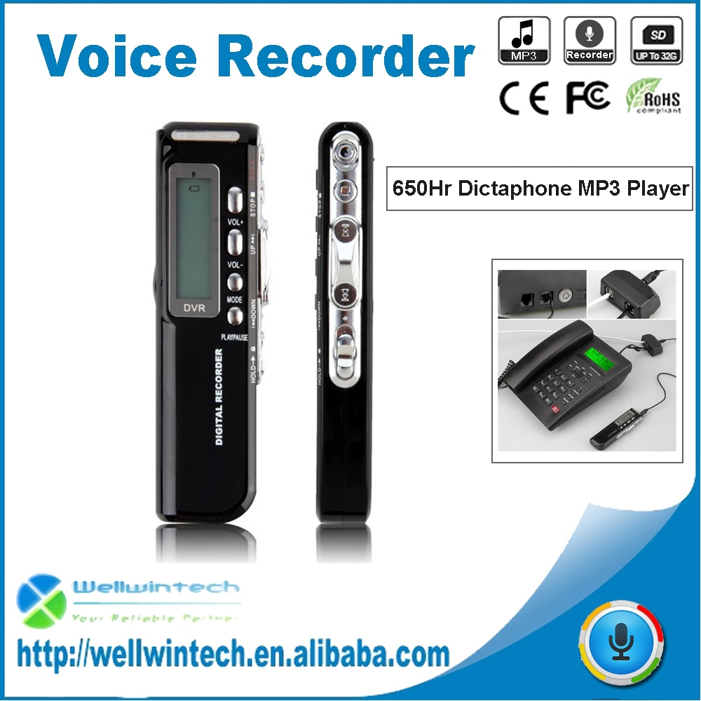 8GB Mini USB Digital MP3 Wearable Voice Recorder