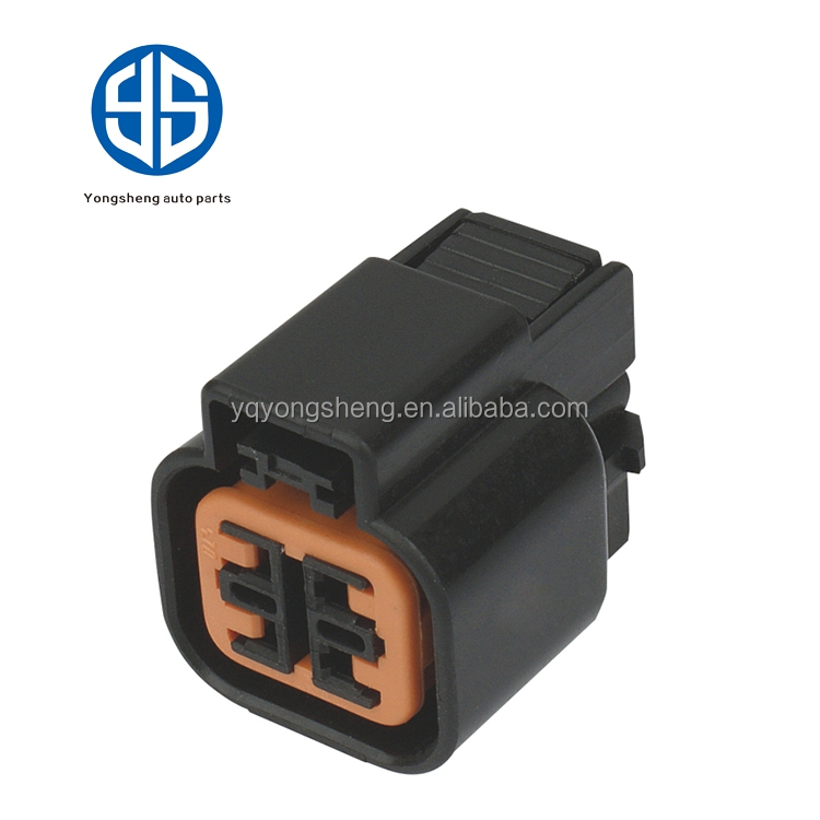 china supplier 4 Pins equivalent KUM female auto connector electric socket PB625-04027
