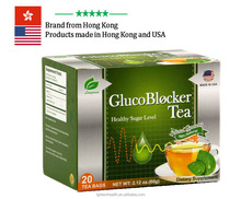 Glucoblocker Tea herbal cure anti diabetes Gymnema Chinese green tea