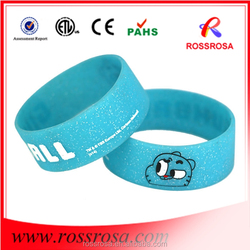 Factory direct sales fashion bracelet silicone for advertising
