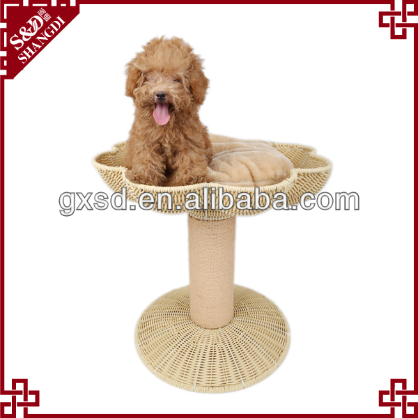 PE rattan eco-friendly handmade waterproof dog kennel