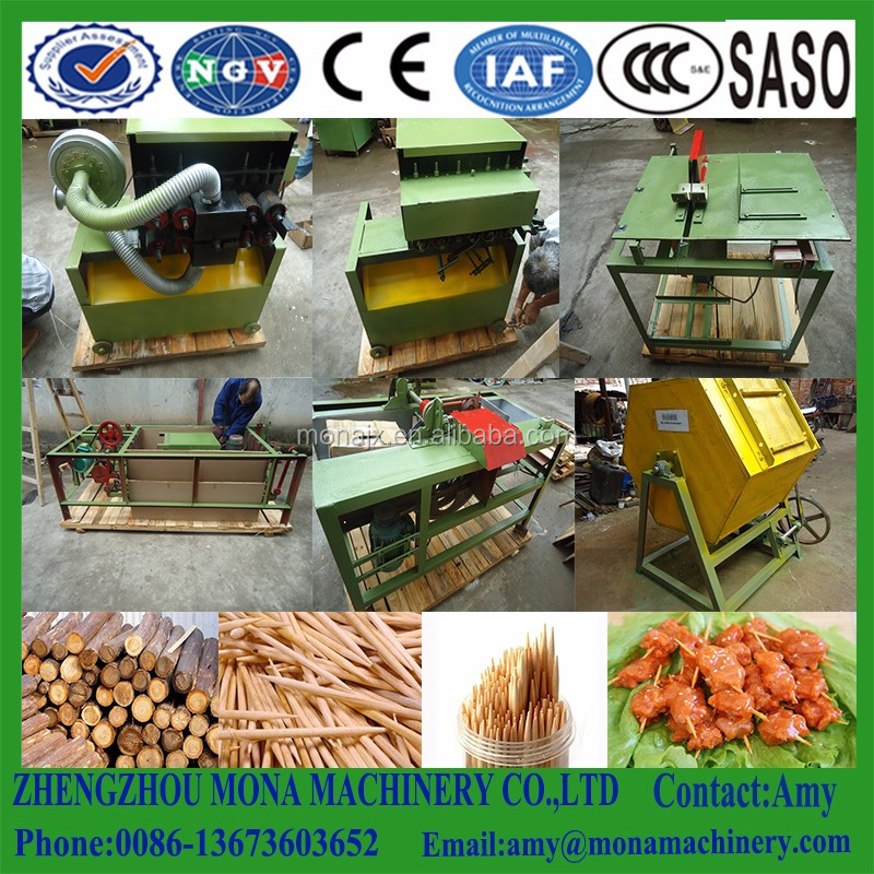 Quality asssured Wood/ bamboo toothpick production line