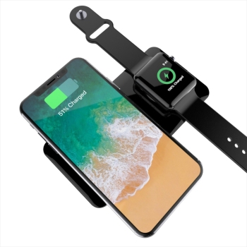 Unique power bank wireless charger for mobile phone and i watch