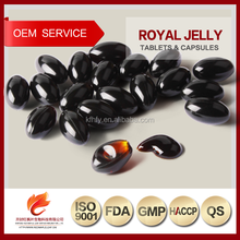 500mg Royal Jelly soft capsules manufacturer