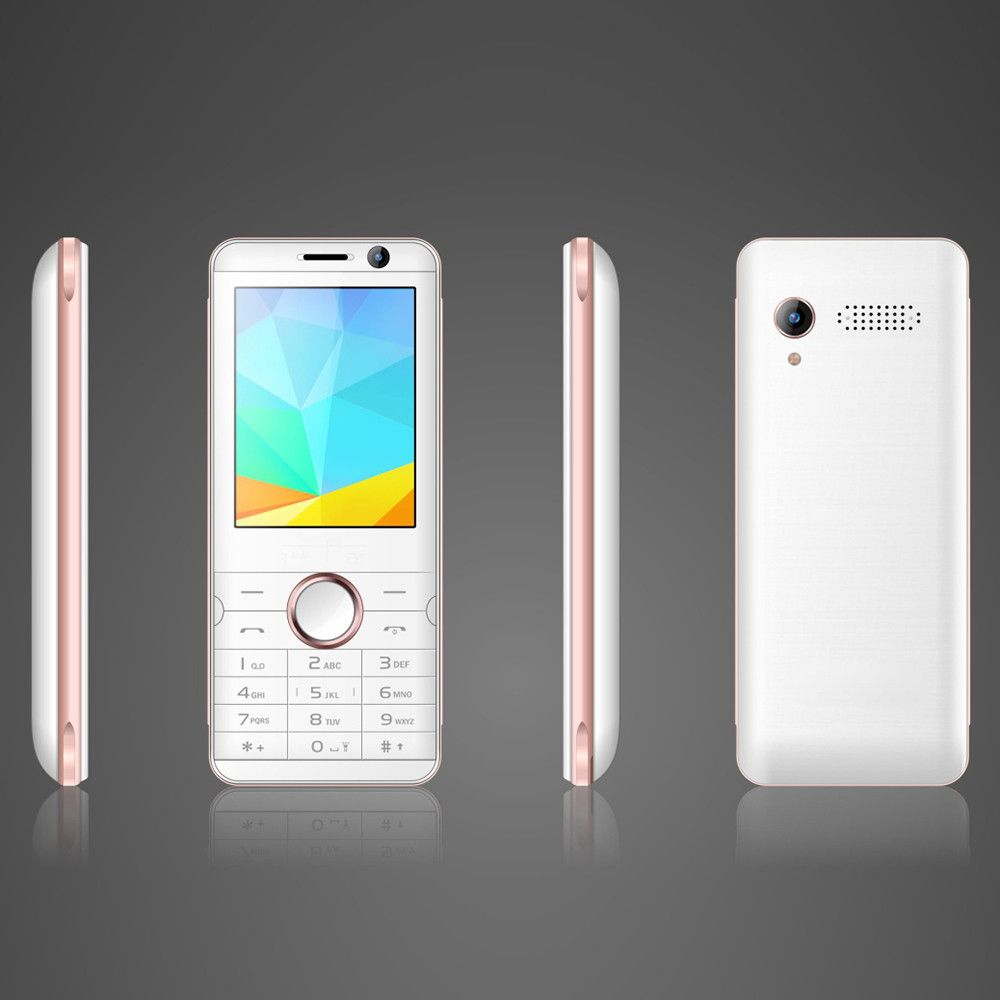 2.8inch Spreadtrum 64MB+128MB Two Cameras F19S 4G Feature Phone 4G Volte China Mobile Phone