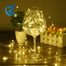 Home decoration waterproof 12v camping decorative fairy long lasting usb powered battery led string light